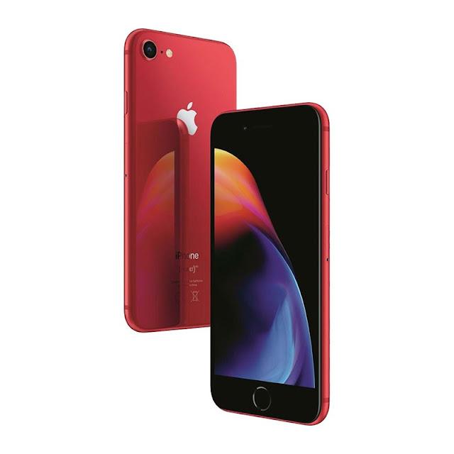 سعر جوال Apple iPhone 8 Red باللون الاحمر فى مكتبة جرير