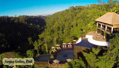 Kolam Renang Hanging Gardens, Ubud