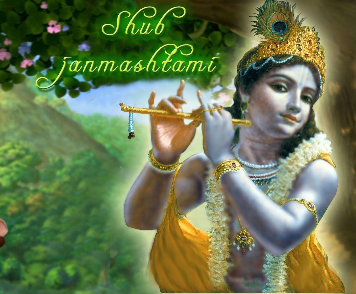Advance Krishna Janmashtami Wishes Sms Quotes Images In