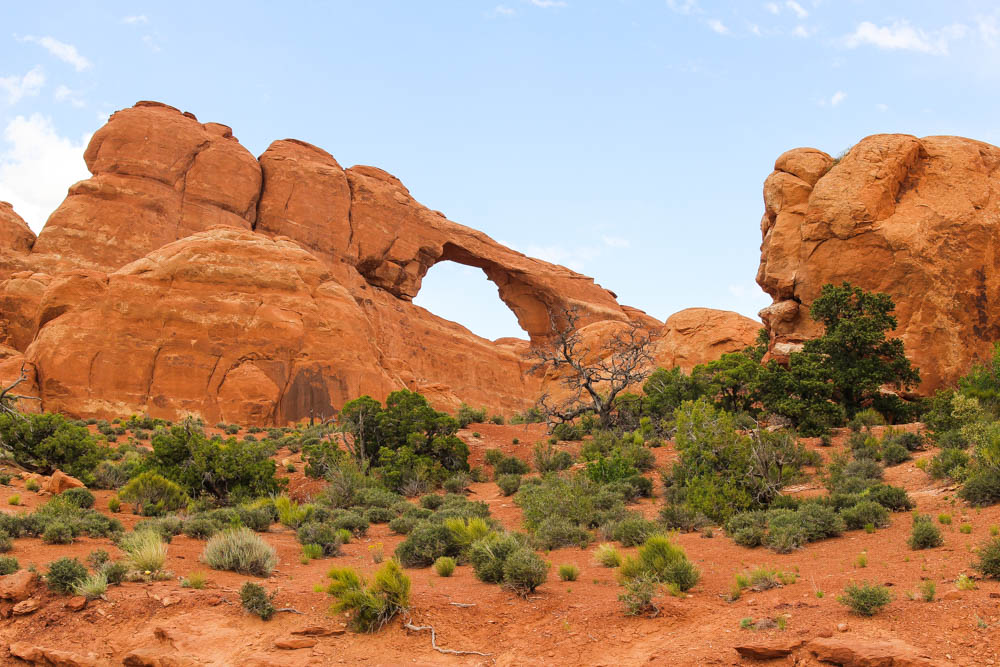 The Arches National Park, Utah