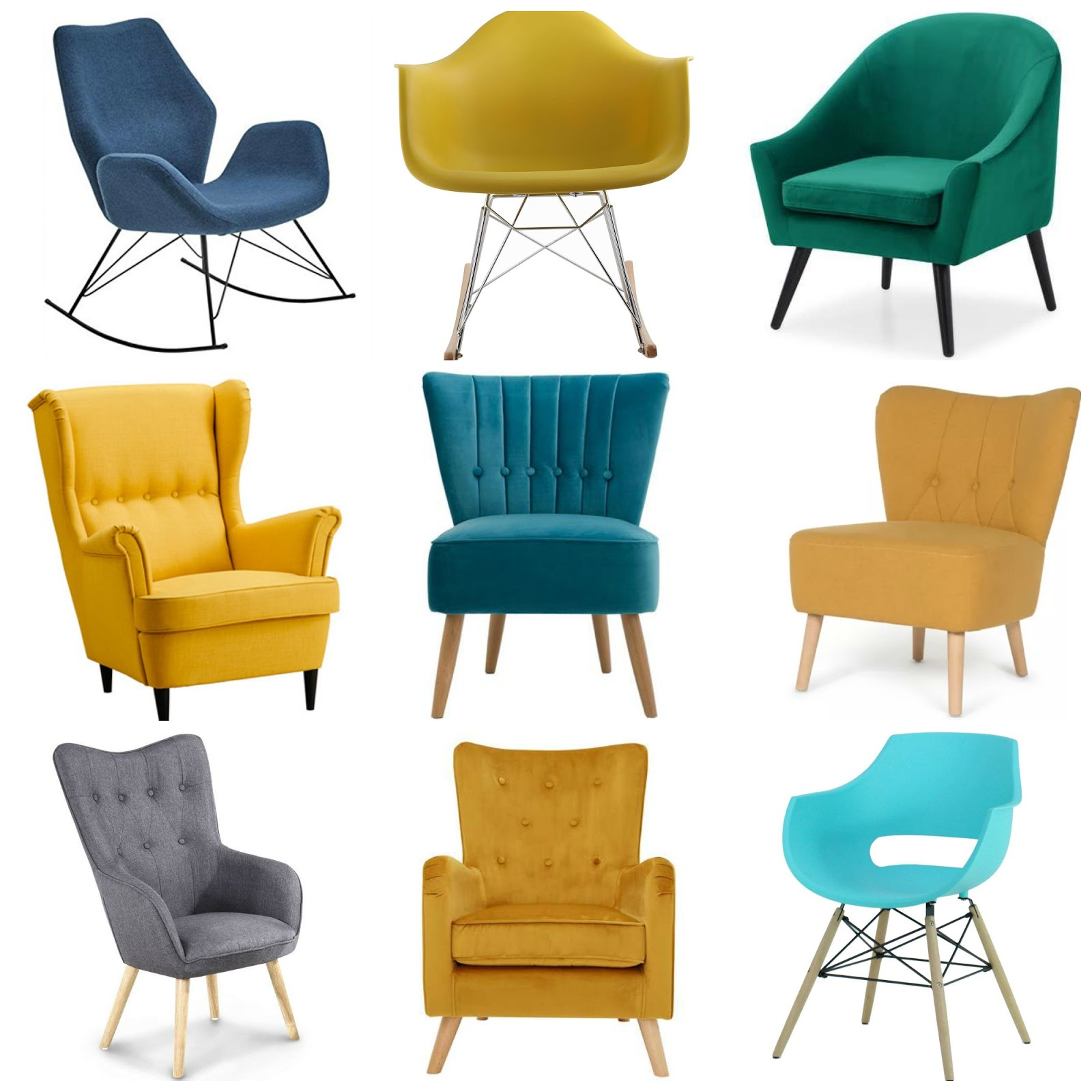 Wafflemama.: Home Style  Finding The Perfect Occasional Chair
