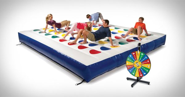 Mive Outdoor Inflatable Twister Cool Sh T You Can Find Things To