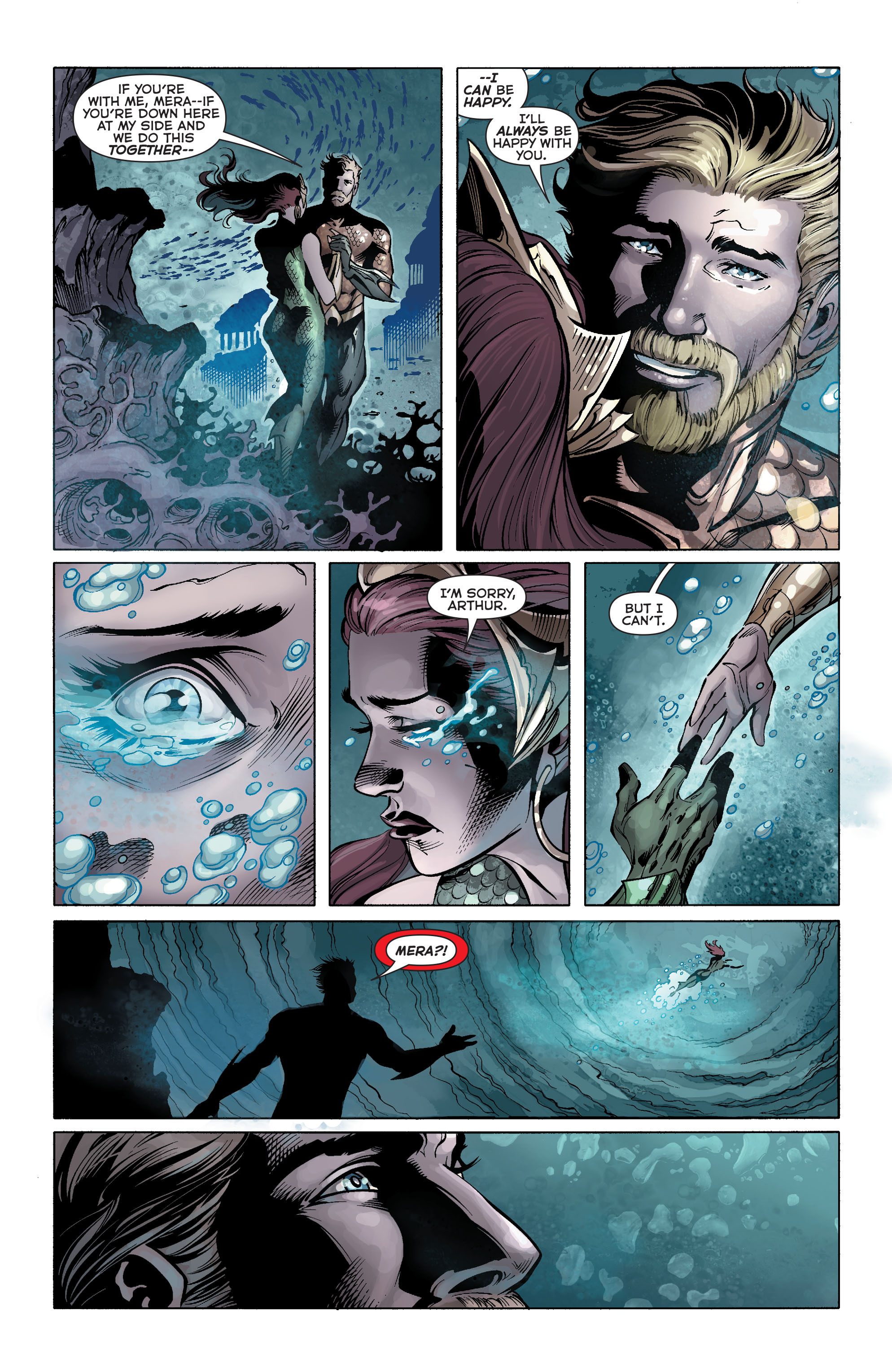 Read online Aquaman (2011) comic -  Issue #25 - 21