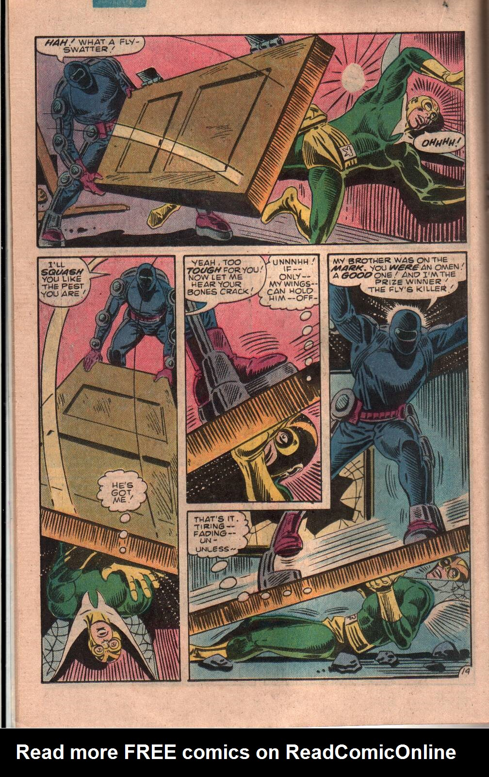 Read online The Fly (1983) comic -  Issue #7 - 15