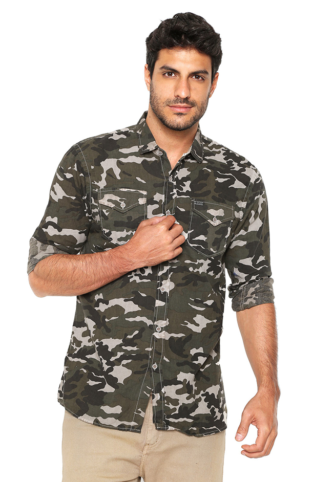 Polo Wear Camisa Polo Wear Estampada Verde 2890 1247833 1 zoom - TOP 10: Sugestões de PRESENTES professional DIA DOS PAIS até R$200