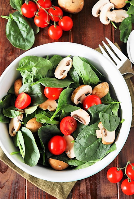 Wilted Spinach Salad photo