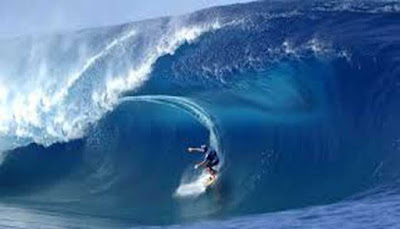 Surfing Pantai Tanjung Setia