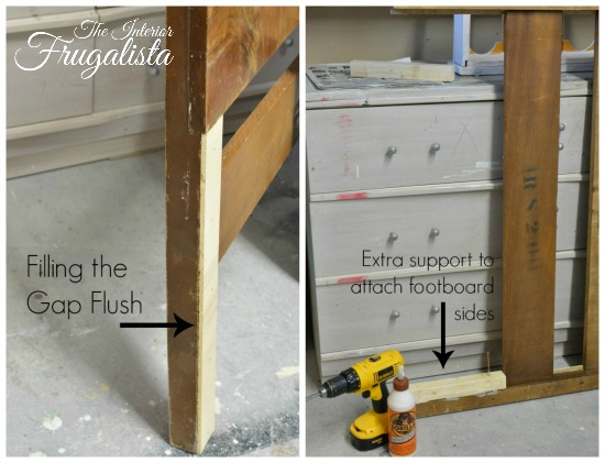 How to build Vintage Waterfall Headboard Bench