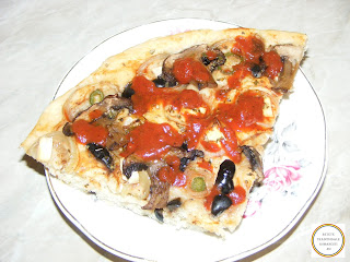 Pizza de post reteta,