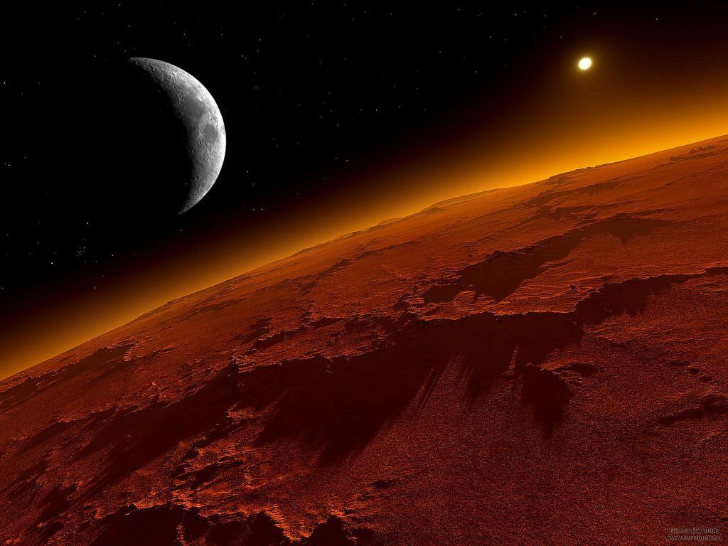 De la Luna a Marte