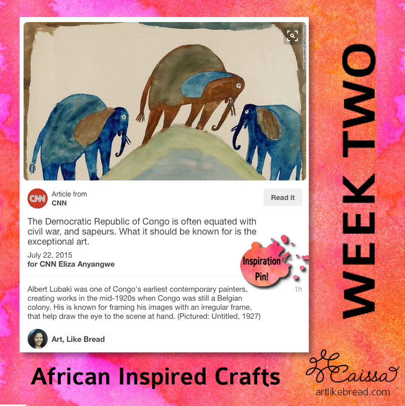 African American Crafts For Kids