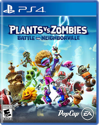 Plants Vs Zombies Battle For Neighborville Game Cover Ps4