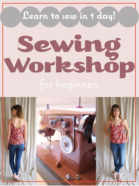 Take a Sewing Workshop with Me!