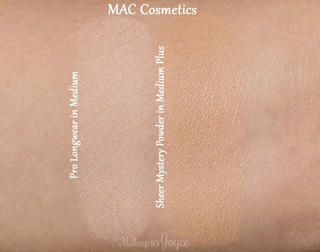 MAC Pro Longwear Pressed Powder in Medium Swatch