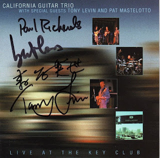 California Guitar Trio With Special Guests Tony Levin And Pat Mastelotto - 2001 - Live At The Key Club