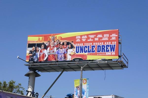 Uncle Drew film billboard