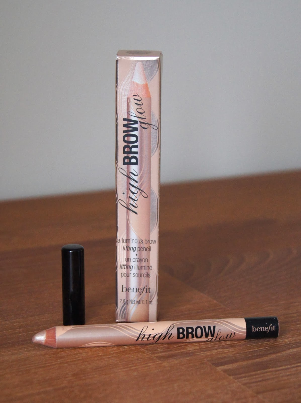 benefit high brow glow brow lifting pencil review