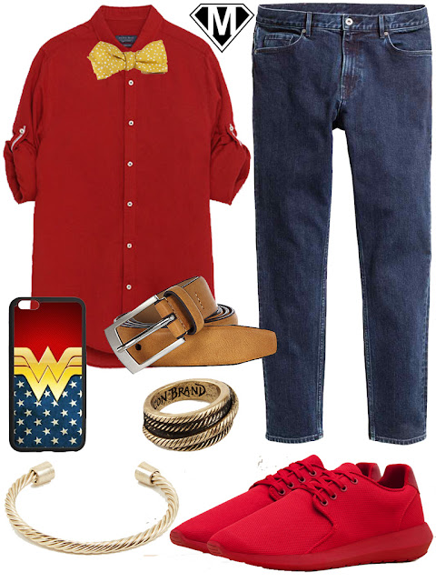 Get The Look Wonder Woman disneybound