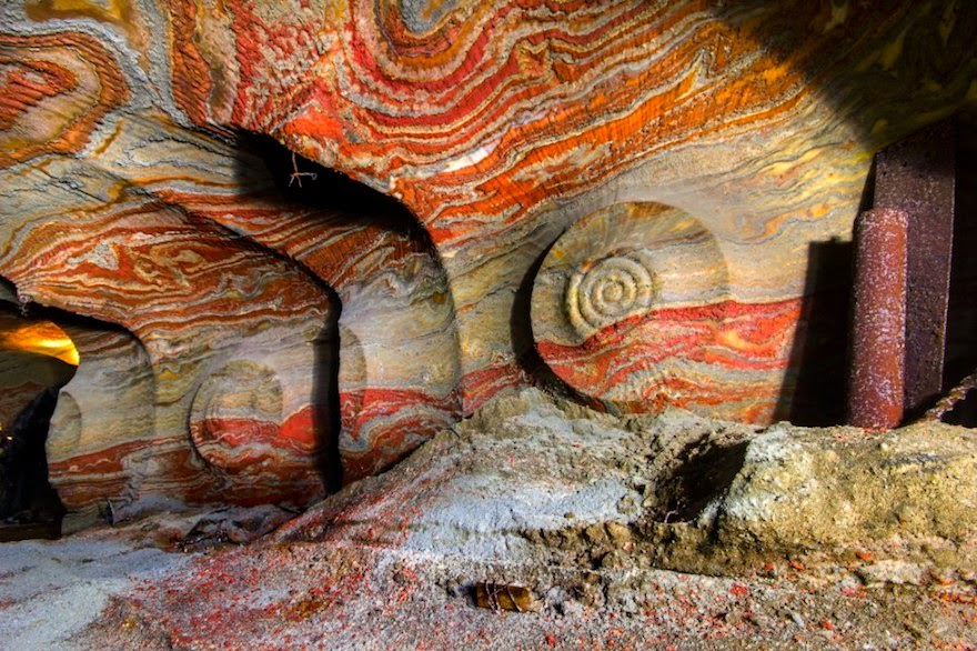Psychedelic Salt Mine, Russia - 19 Lesser-Known Travel Destinations To Visit Before You Die