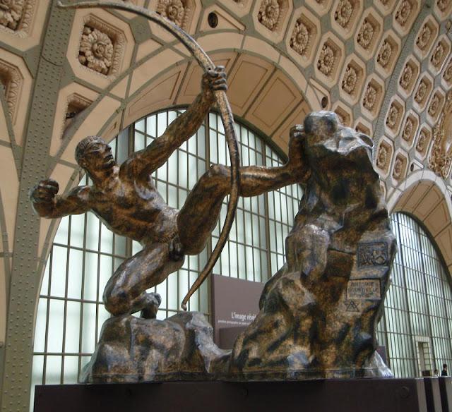 """Resultado de imagen para museo oficial Antoine Bourdelle """"Hércules arquero"""","""