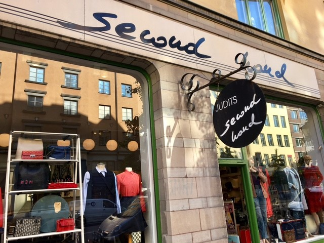 Vintage and Second Hand Clothing Stores on Södermalm