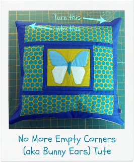 No More Empty Corners (aka Bunny Ears) by www.madebyChrissieD.com