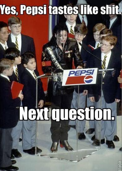 MJ Pepsi Meme