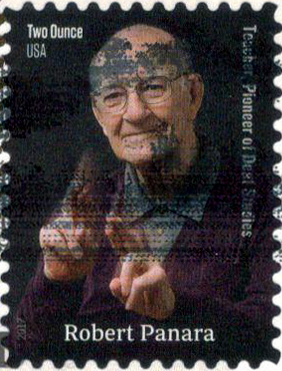 The Last Stamp Is 16th In Distinguished Americans Series And Was Issued On April 11 2017 To Honor Robert Panara 2 Ounce Features