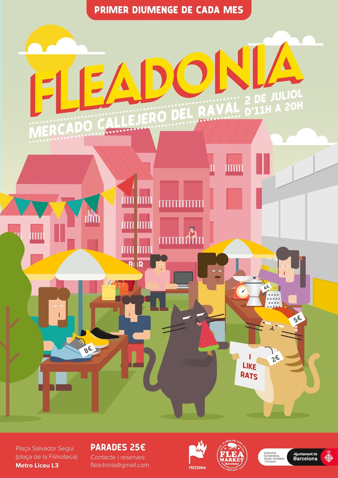 Blog de ocio y cultura para tu tiempo libre va de - Mercadillo de segunda mano barcelona ...