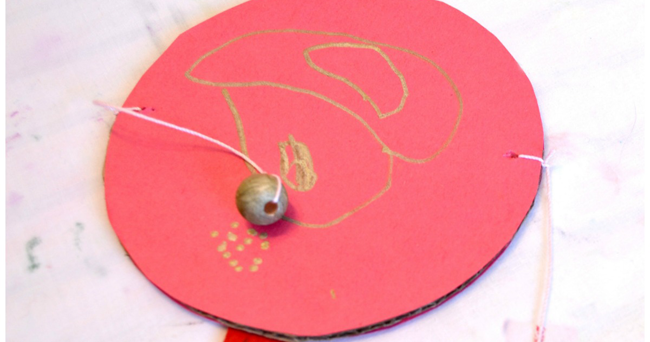 Creative Family Fun: Chinese Rattle Drum Craft