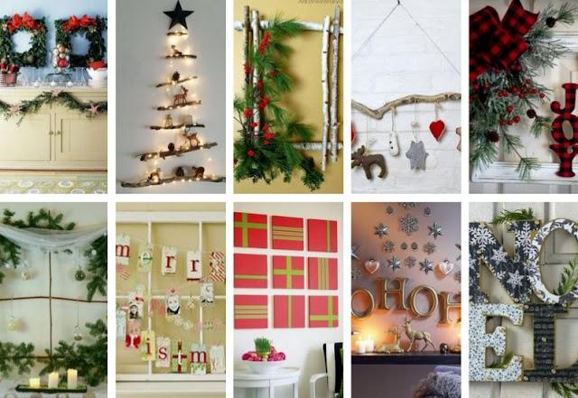 50+ Επιτοίχιες Χριστουγεννιάτικες Διακοσμήσεις
