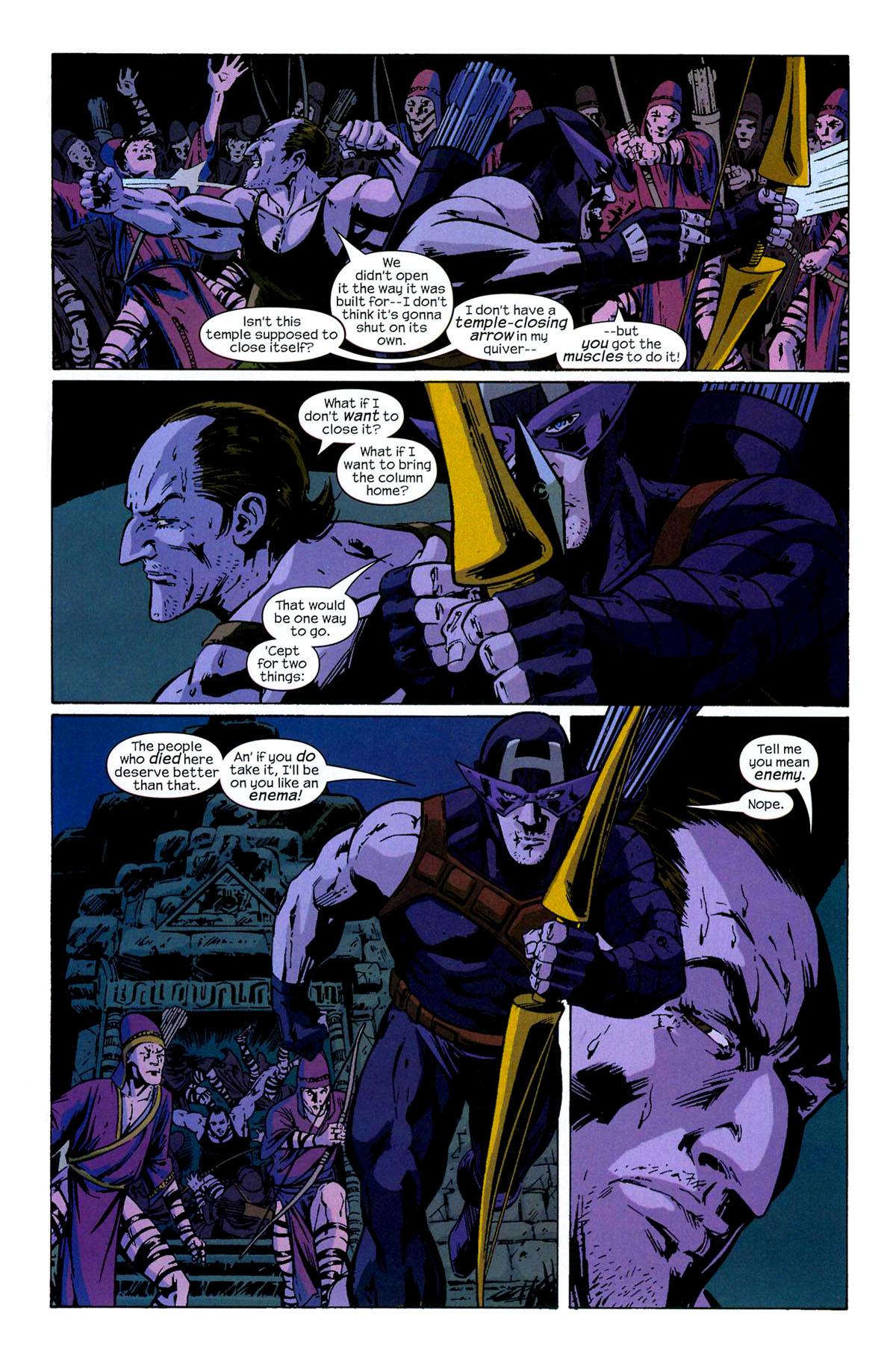 Hawkeye (2003) Issue #6 #6 - English 11