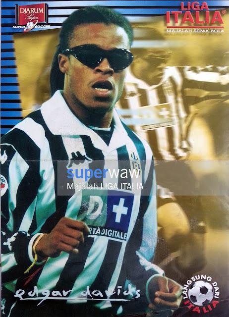 Poster Edgar Davids Juventus 1998