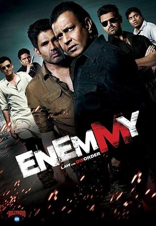 Enemmy 2013 Hindi Full Movie 850MB 720p HDRip