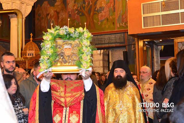 Γιόρτασαν τον Άγιο Νικόλαο στο Άργος
