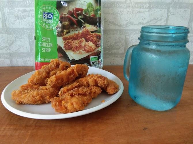 Review So Good Spicy Chicken Strip : Nikmat Pedasnya Membara!