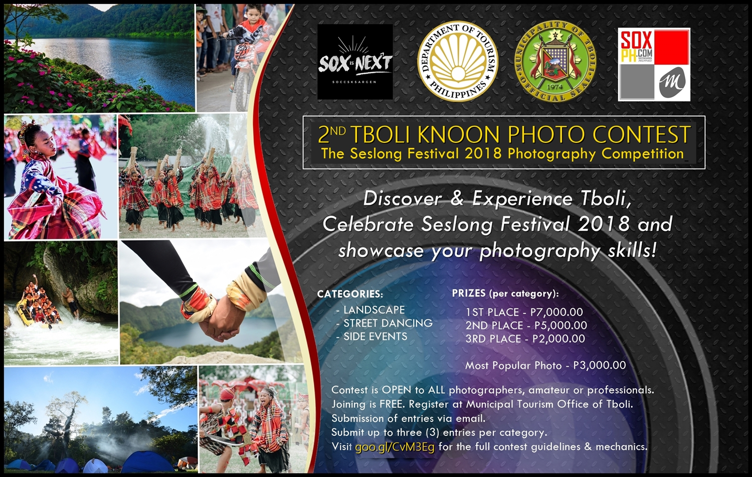2nd Tboli Knoon Photo Contest: The Seslong Festival 2018 Photography Competition
