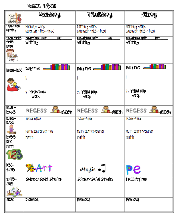 plan book template 1000 ideas about lesson plan templates on ...