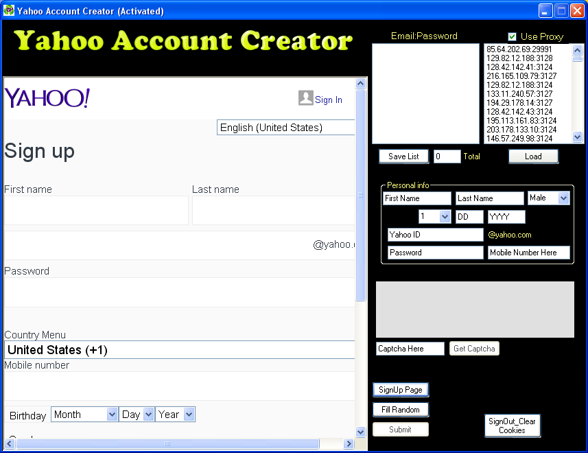 Yahoo Mail Free Email With 1000 Gb Of Storage I Want Create Yahoo Account Nord Price