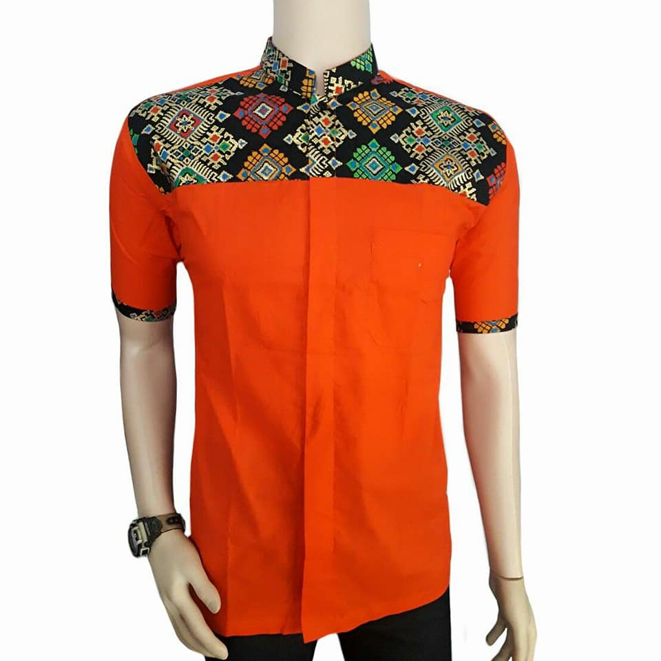 Gambar Model Batik Pria Terbaru: 20+ Model Baju Batik Pria Kombinasi Terbaru