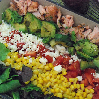"Salmon ""Cobb"" Salad"