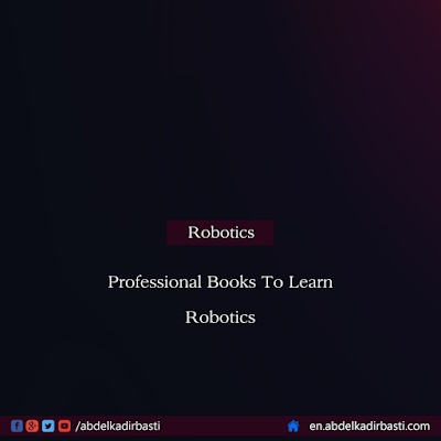 Professional Books To Learn Robotics