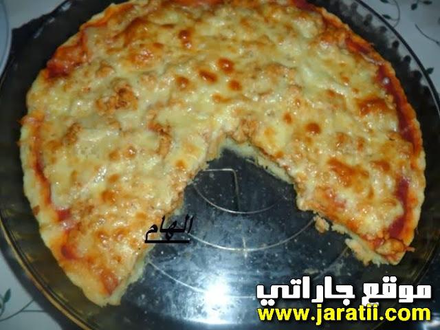كراتان على شكل بيتزا