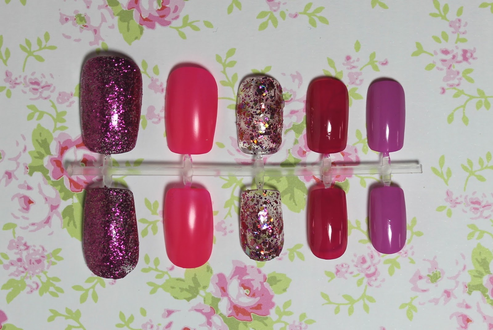top 5 pink nail polish swatches
