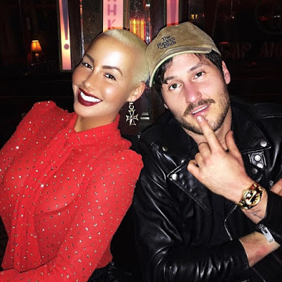 Amber Rose spotted for the first time after split from boyfriend of 5 months, Val Chmerkovskiy