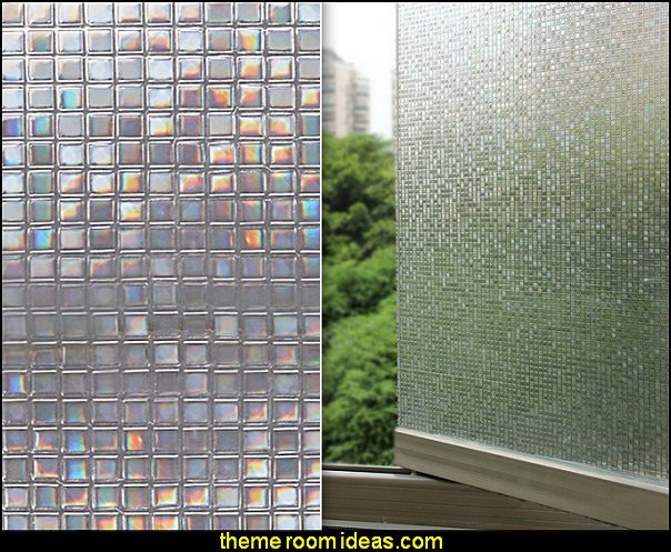 3D Static Decorative Privacy Window Films