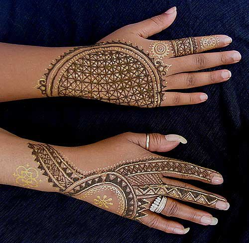 Bridal Mehandi Design Collection 3
