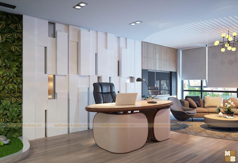 Thiết kế phòng giám đốc với nội thất có nét độc đáo riêng