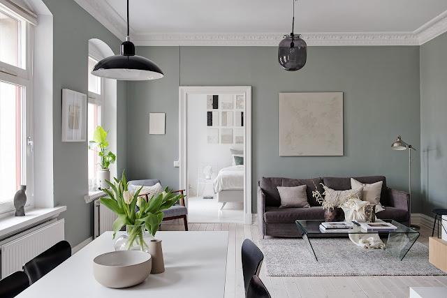 Amenajare scandinavă pentru un apartament mic