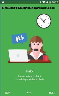Diana Aplikasi Asisten || UNLIMITECHNO